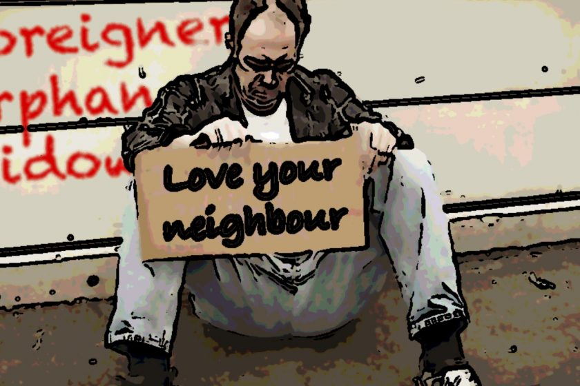 Love your neighbour, God's heart for the poor